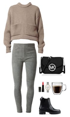 """""""Cosy with style"""" by eellcat on Polyvore featuring MM6 Maison Margiela, RED Valentino, MICHAEL Michael Kors, Skagen and Bodum"""