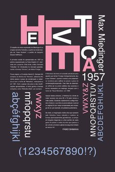 typography poster helvetica - Google Search