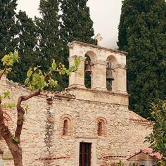 The Monastery of Kera - Photographic print - Greek, Greece, Crete, Religion, Mist, Photography, Europe, European, 12 x 12, 16 x 16, 20 x 20
