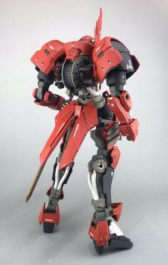 GUNDAM GUY: 1/100 Grimgerde Knight - Customized Build