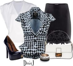 """""""Office Look"""" by dimij ❤ liked on Polyvore"""