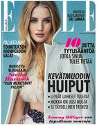 Rosie Huntington-Whiteley for Elle Finland March 2015 Elle Magazine, Magazine Covers, Fashion Cover, Dermalogica, Rosie Huntington Whiteley, Sri Lanka, Finland, Magazines, March