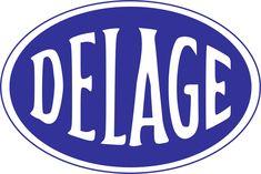 Delage Logo (blue)