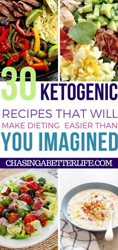 These 30 Keto Diet Meal Recipes Are Perfect! #diet #recipes #keto #ketogenic #lowcarb #food