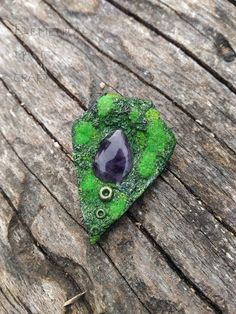 BUY HERE!!! https://etsy.me/2Io0T07  Aurae, nymphs of the breezes - Amethyst Jewelry Nature Inspired Pendant Moss Necklace Magic Unisex Wiccan Witchcraft Green Purple Unique  #nymphjewelry #uniquejewelry #wiccajewelry #witchyjewelry #fairyjewelry #naturejewelry