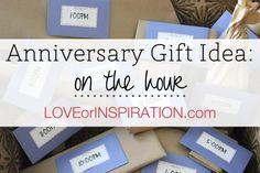 Anniversary Gift Ideas: On the Hour     View original post @ loveorinspiration.com