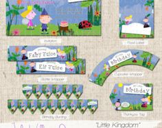 INSTANT DOWNLOAD Little Kingdom Themed Party by LittleHellraizers