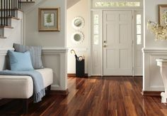 Check out beautiful laminate flooring options from Express Flooring Cleaning Laminate Wood Floors, Walnut Laminate Flooring, Wood Flooring, Pergo Laminate, Kitchen Laminate, Wood Parquet, Plywood Floors, Wood Planks, Kitchen Flooring