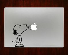"Snoopy Decal Sticker Vinyl For Macbook Pro/Air 13"" Inch 15"" Inch 17"" Inch Decals Laptop Cover"