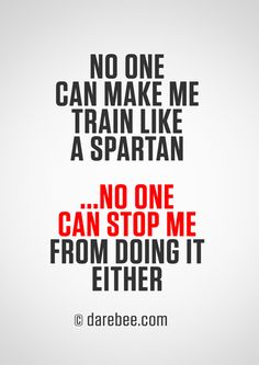 Train like a Spartan [quote]