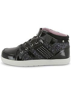 Chaussures, chaussons - Baskets montantes à strass et paillettes - Kiabi