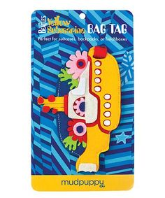 This The Beatles Yellow Submarine Bag Tag is perfect! #zulilyfinds