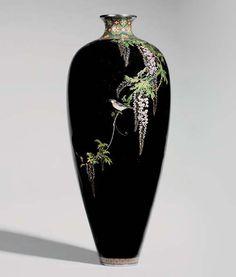 Japanese Vase, Japanese Ceramics, Pottery Painting Designs, Pottery Art, Decoration, Art Decor, Kyoto, Tattoo Project, Clay Vase