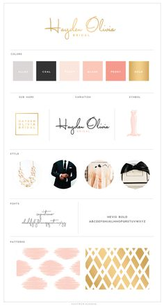 Logo Design :: Hayden Olivia Bridal :: Saffron Avenue : Saffron Avenue There are different rumors about the real history … Design Typo, Web Design, Website Design, Blog Design, Identity Design, Typography Design, Brand Design, Brand Identity, Bridal Logo