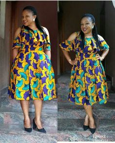 Chic and Stylish Ankara Short Gown Styles for Beautiful Ladies.Chic and Stylish Ankara Short Gown Styles for Beautiful Ladies African Fashion Ankara, Latest African Fashion Dresses, African Print Dresses, African Dresses For Women, African Print Fashion, African Attire, African Wear, African Prints, Ankara Short Gown Styles