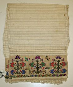 Textile, Turkish, cotton, silk, 1800-1941