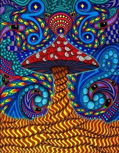 1000 Images About Magic Mushroom Art On Pinterest