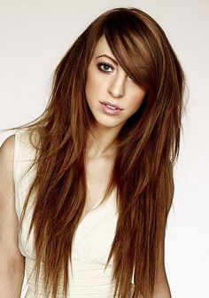 long hair with bangs - Yahoo Image Search Results
