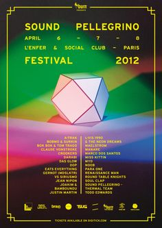 Sound Pellegrino Fest 2012 - Think I might go check this out ::))
