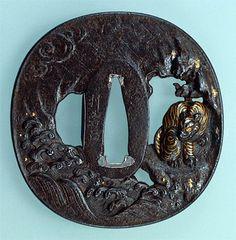 tsuba période Edo