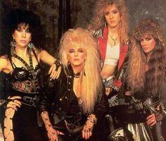 Best Fashion Look : The Nineteen Eighties Vixen 80s Hair Metal, Hair Metal Bands, 80s Hair Bands, 80s Metal Bands, Chica Heavy Metal, Heavy Metal Girl, 80s Rock Fashion, Metal Fashion, Style Fashion