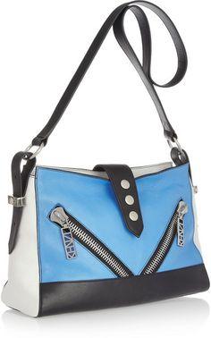 df427229 new Kenzo bag - Kalifornia Medium Leather Shoulder Bag in Blue - Lyst Blue  Bags,