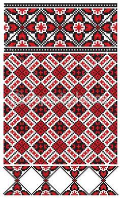 Украинские вышивки — Стоковая иллюстрация #37624253