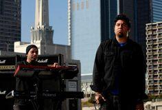Frank Delgado and Chino Moreno