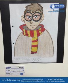 Harry potter por Jhonatan Sarate
