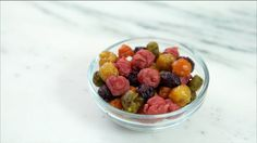 Taste Mother Nature's rainbow with homemade fruit snacks made with real fruit.
