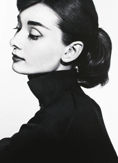 Audrey Hepburn photographed by Yousuf Karsh, 1956