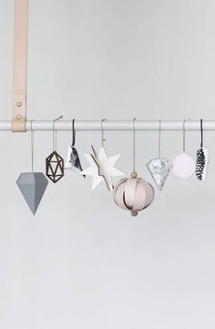 thatnordicfeeling: Christmas ornaments by Ferm Living