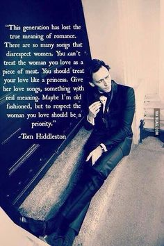 Tom Hiddleston ❤️