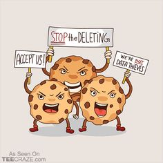 Cookie Uprising T-Shirt From Toxic Onion. #TeeCraze #Funny #Cookie #Protest #tshirt
