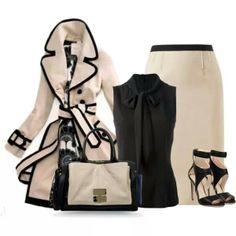 Olivia Pope Style.   She always wears white.