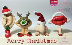 #merrychristmas #family #sugar #nose #ear #eye #mouth
