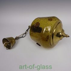 Boda Bull Motif Amber Glass Ceiling Light Pendant Erik Hoglund 1950s Swedish | eBay