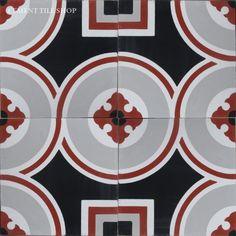 Cement Tile Shop - Encaustic Cement Tile America - bold! $244 for 15 sf