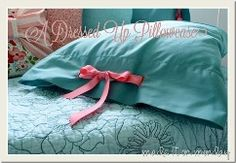 Tutorial: Pillowcase tied up in a bow · Sewing | CraftGossip.com