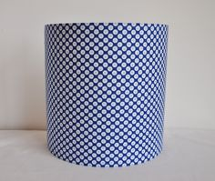 Applique 20 x 20 cm en tissu motifs japonais tons bleus Luminaires