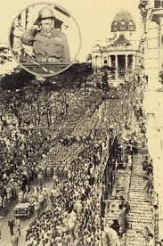 Parade commemorating the return of the soldiers to Brazil - Rio de Janeiro (1945)