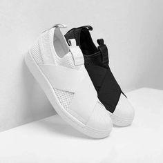 Slip on: adidas Superstar. Jetzt entdecken und shoppen: https://sturbock.me/8VH