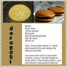 Dorayaki Cooking Cake, Easy Cooking, Cooking Recipes, Baking Utensils, Cooking Ingredients, Asian Desserts, Diy Food, Food Dishes, Sweet Recipes
