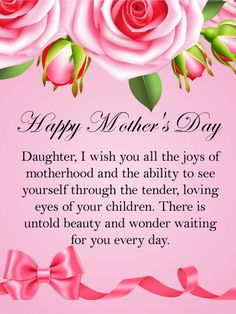 10 best mothers day cards for daughter images on pinterest happy mothers day card for daughter daughters are m4hsunfo
