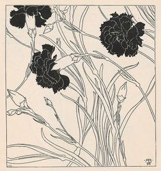 """""""Be like the flower who even gives its fragrance to the hand that crushes it."""" —  Imam Ali (pic @ Adolf Böhm, Ver Sacrum 1901, p. 98)"""