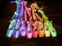 Ballet Shoes...Rainbow