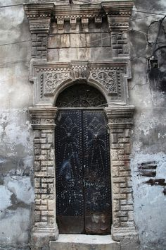 Aleppo, Syria. Now riddled with bullet holes.