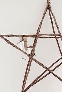 star decor diy twigs sticks