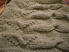 Ravelry: Angel Wings Wash or Dish Cloth pattern by Klothklicker Knitting Patterns Free, Free Knitting, Stitch Patterns, Free Pattern, Crochet Patterns, Angel Wings, Washing Clothes, Clothing Patterns, Cable Knit