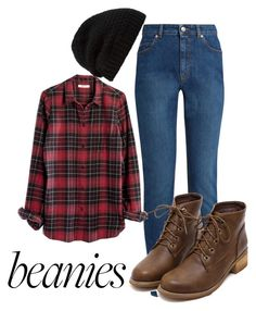 """""""beanies"""" by annmarieyoung ❤ liked on Polyvore featuring Alexander McQueen, Madewell and Rick Owens"""